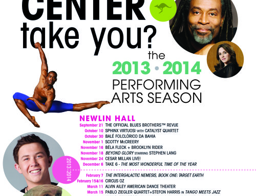 From the Director's Desk:  Where will the Norton Center take you this season?