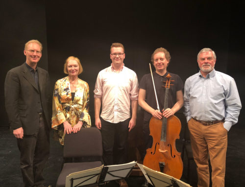 Acclaimed String Quartet Workshops Student Piece