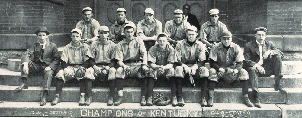 Centre College Baseball team 1908 - Centre College: A Place of Large Advantages