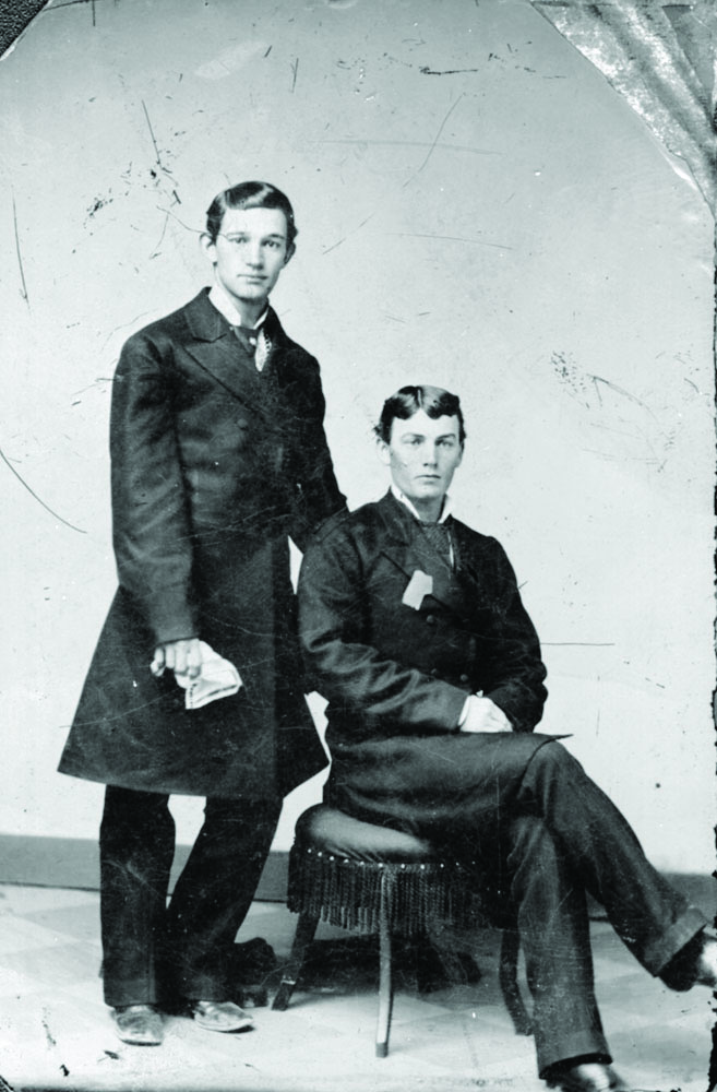 Two Centre College students. 1875. Will Welsh and Will Davis. - Centre College: A Place of Large Advantages