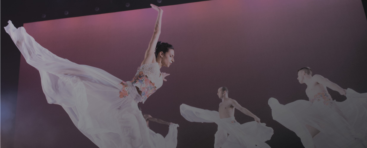 Ballet Hispanico Background - Home page