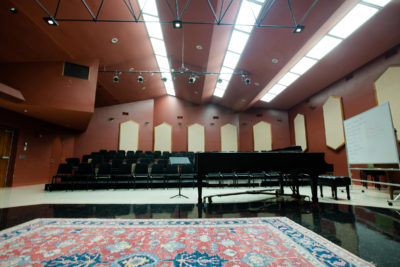 FLW Gillespie Recital Hall 400x267 - The Wright Angle Exhibit