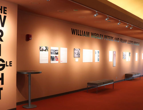 Wright Angle exhibit Gallery Talk set for Dec. 5